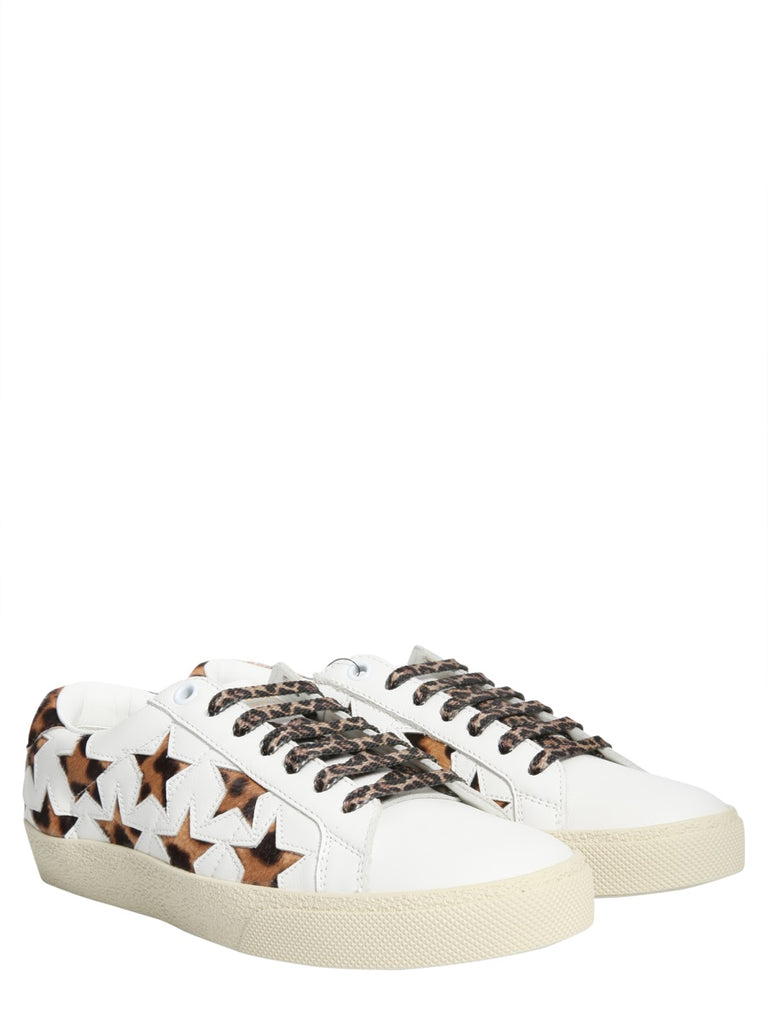 5131c6cf532 Saint Laurent Stars All-Over Lace-Up Sneakers – Cettire