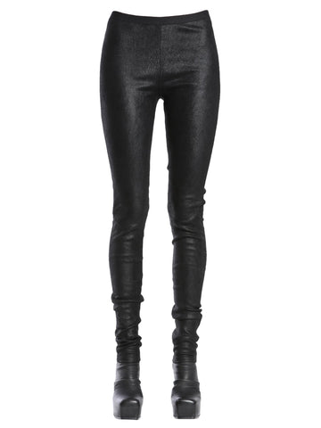 Rick Owens Stretch Leather Leggings