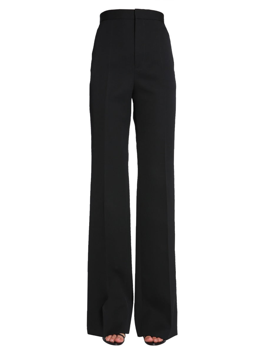 Givenchy Wide Leg Pants In Black
