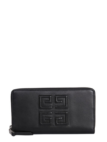 Givenchy 4G Zip Around Wallet