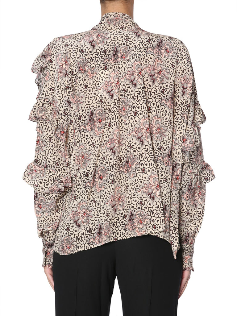 6ed2d5c1f04 Isabel Marant Asymmetric Layered Blouse – Cettire