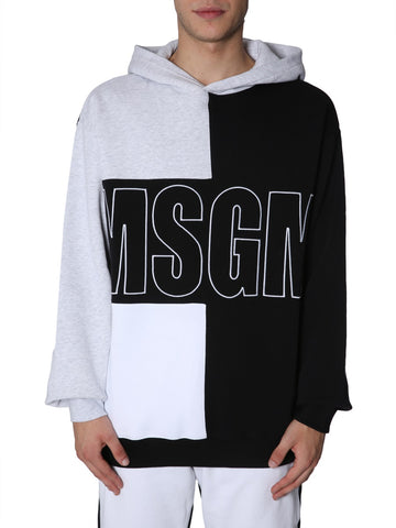 MSGM Logo Hooded Sweatshirt
