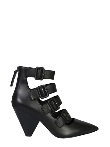Ash Dolby Strap Buckle Boots