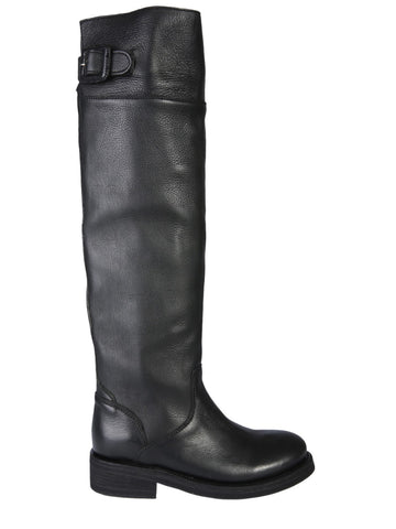 Ash Thunder Buckle Knee-High Boots