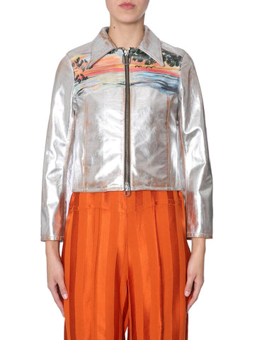 Golden Goose Deluxe Brand Metallic Mira Jacket