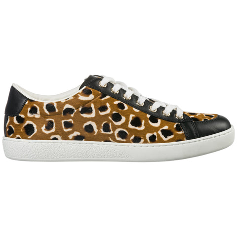 Gucci Leopard Low Top Sneakers