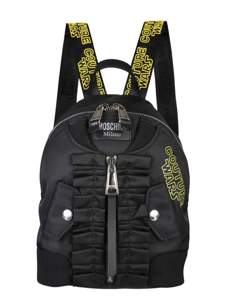 c7189cd2f443 Moschino Couture Wars Bomber Backpack – Cettire