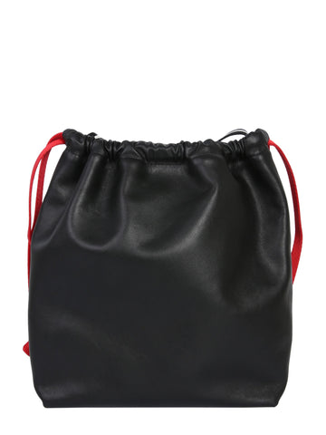 Alexander Wang Logo Plaque Bucket Bag