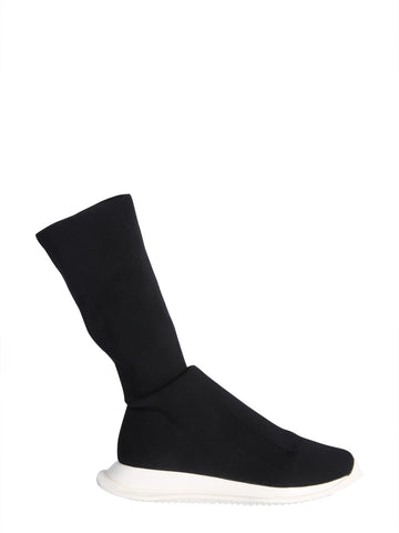 Rick Owens Drkshdw Stretch Sock-Like Sneakers
