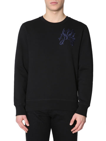 Alexander McQueen Embroidered Logo Sweatshirt