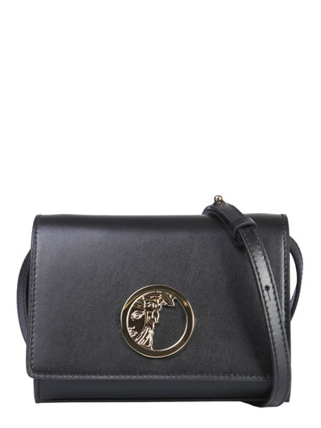 Versace Collection Nappa Shoulder Bag