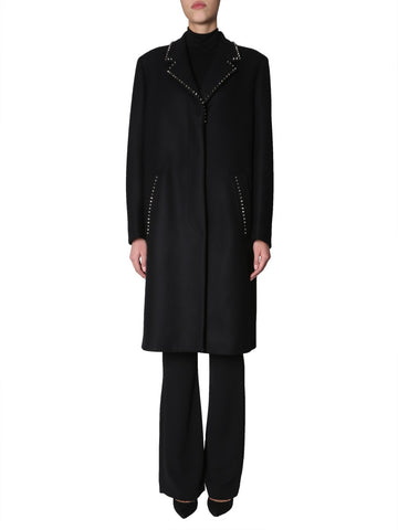 Versace Collection Oversized Studded Coat