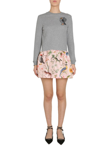 Red Valentino Bird Logo Jumper