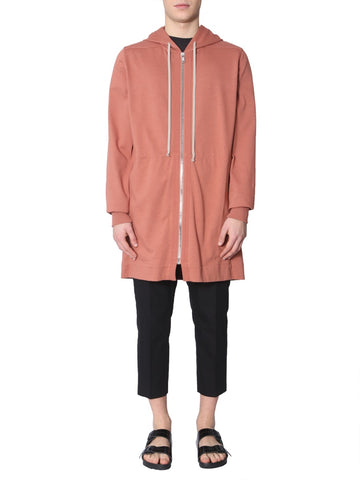 Rick Owens Zipped Oversized Hoodie