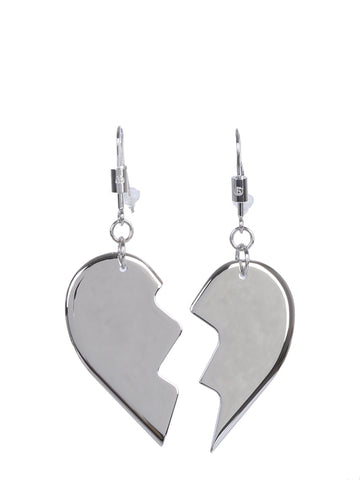 MM6 Maison Margiela Friendship Heart Earrings