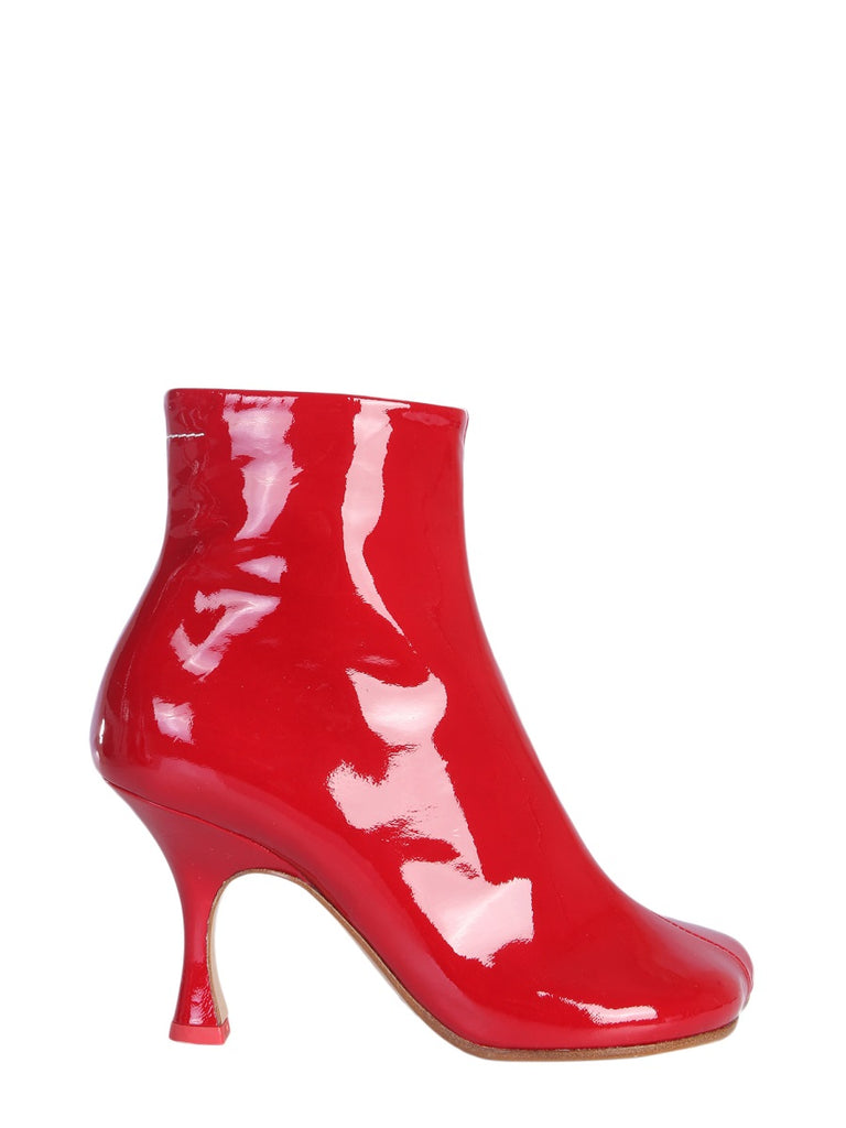 363dcc2903 MM6 Maison Margiela Flared Heel Ankle Boots – Cettire