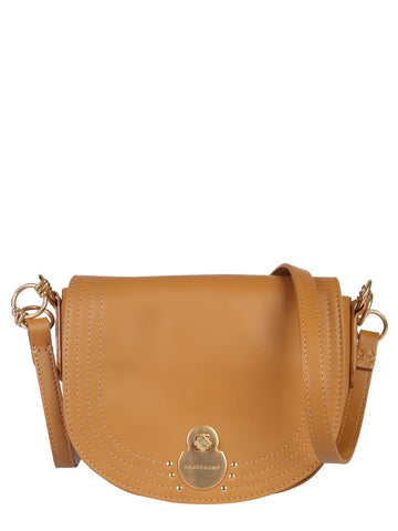 Longchamp Twist Lock Strap Crossbody Bag