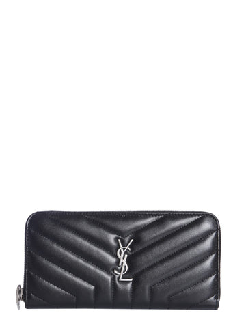 Saint Laurent Logo Padded Wallet
