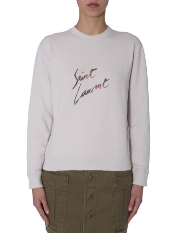 Saint Laurent Animal Logo Sweater