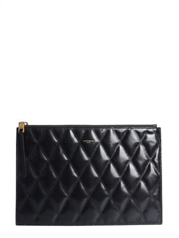 Givenchy Logo Quilted Pouch