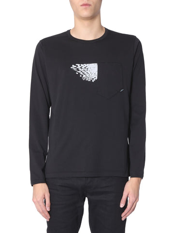 Stone Island Shadow Project Graffic Print Sweatshirt
