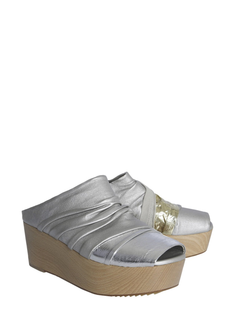 27c04be680 Rick Owens Metallic Platform Sandals – Cettire