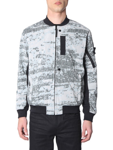 Stone Island Shadow Project Printed Bomber Jacket