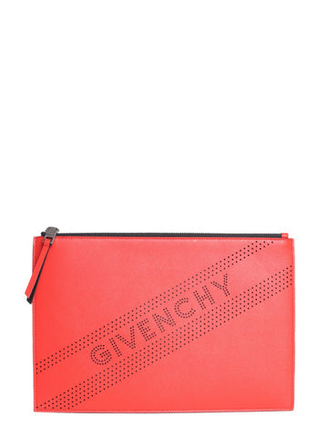 Givenchy Perforated Medium Pouch