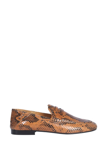 Isabel Marant Fezzy Stamped Penny Loafers