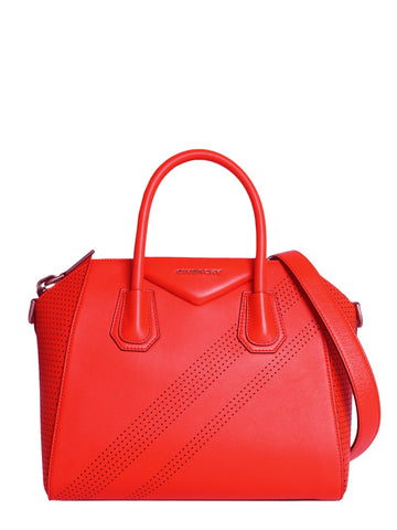 Givenchy Antigona Small Perforated Tote Bag