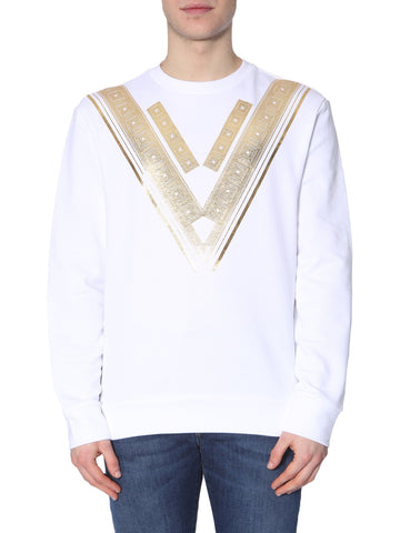 Versace Collection Metallic V Sweater