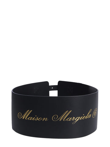 MM6 Maison Margiela Logo Corset Belt
