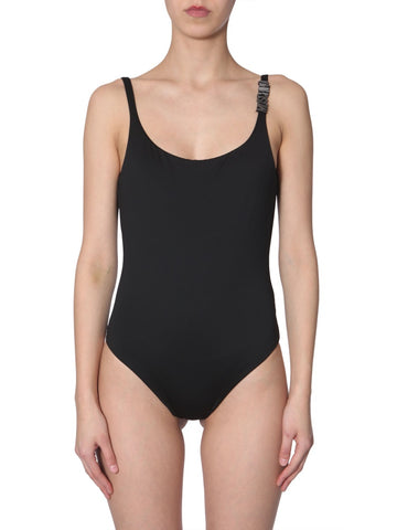 Moschino Low Back Swimsuit