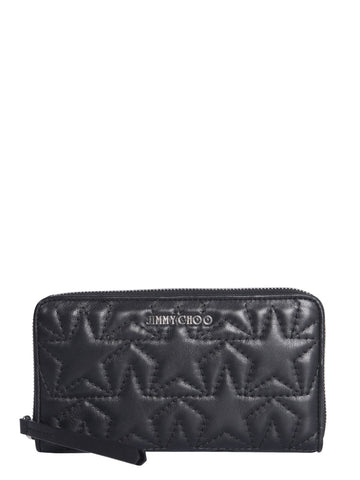 Jimmy Choo Hazel Embossed Wallet