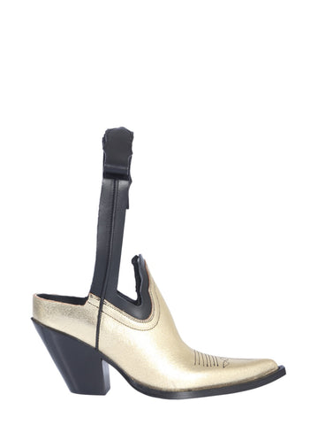 Maison Margiela Cut Out Ankle Boots
