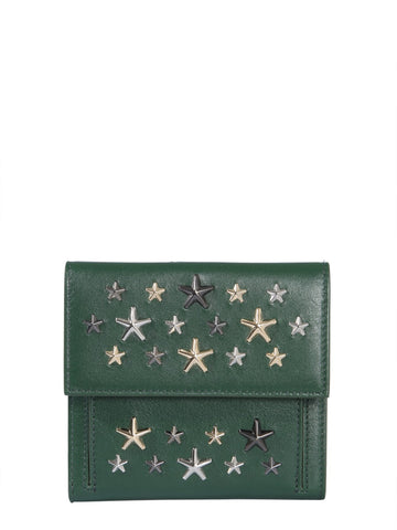 Jimmy Choo Frida Star Studded Wallet