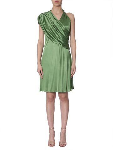 Lanvin Draped Neckline Dress