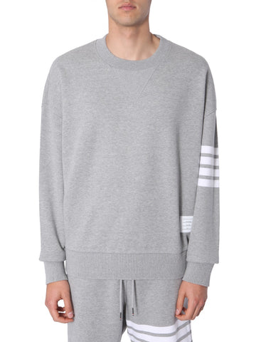 Thom Browne Striped Sleeve Sweaters