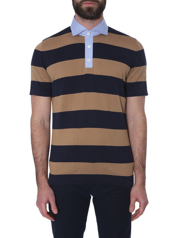 Brunello Cucinelli Striped Polo Shirt