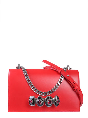 Alexander McQueen Jewelled Shoulder Bag