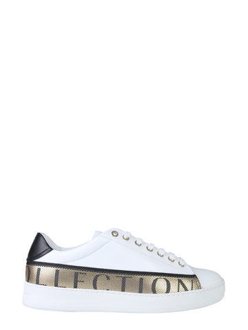 Versace Collection Logo Band Sneakers