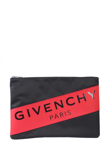 Givenchy Logo Band Clutch Bag