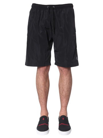 Marcelo Burlon County Of Milan Side Striped Swim Shorts