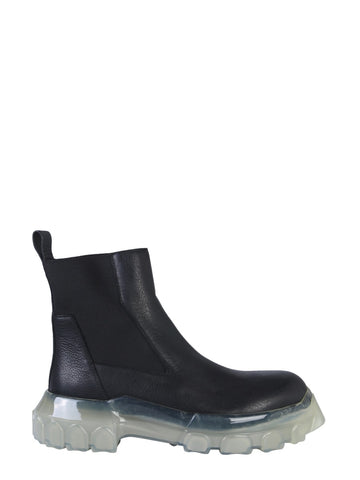 Rick Owens Larry Bozo Tractor Boots