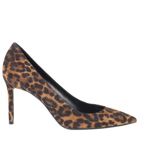 Saint Laurent Leopard Print Stilettos Pumps
