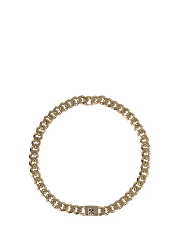 Alexander McQueen Chain Skull Necklace