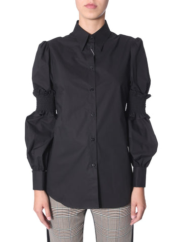 Mm6 Maison Margiela Ruffled Sleeve Shirt