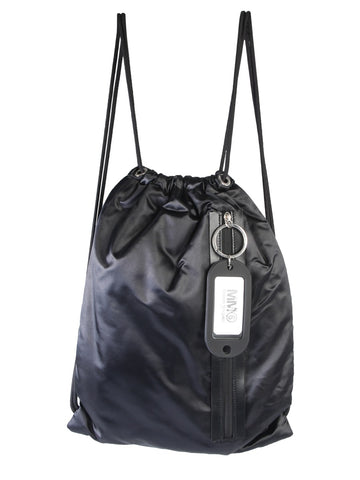Mm6 Maison Margiela Zip Detail Drawstring Backpack