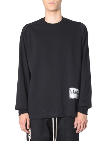 Rick Owens Logo Patch Sweater