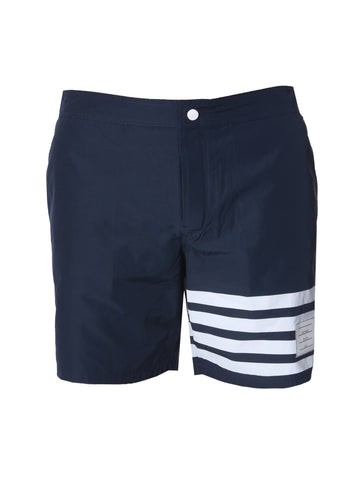 Thom Browne 4 Stripe Swim Short